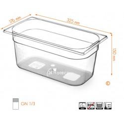 Gastronormbak 1/3 150mm Tritan BPA vrij