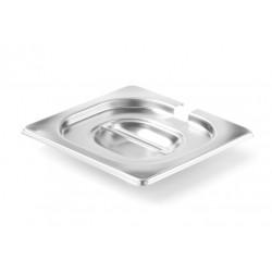 Gastronorm Deksel met lepeluitsparing 1/6  Profi Line