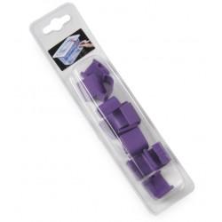 HACCP Voorraaddoos deksel clips Paars