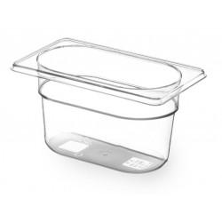 Gastronormbak 1/9 100mm Tritan BPA vrij