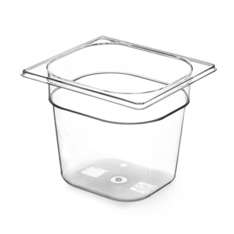 Gastronormbak 1/6 150mm Tritan BPA vrij