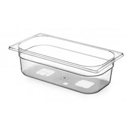 Gastronormbak 1/3 100mm Tritan BPA vrij