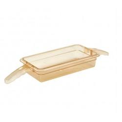 Gastronormbak Hittebestendig 1/3 65mm diep met 2 handvatten