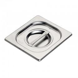 Gastronorm Deksel 1/6 met siliconen afdichting | Gastro M