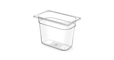Gastronormbak BPA vrij 1/4